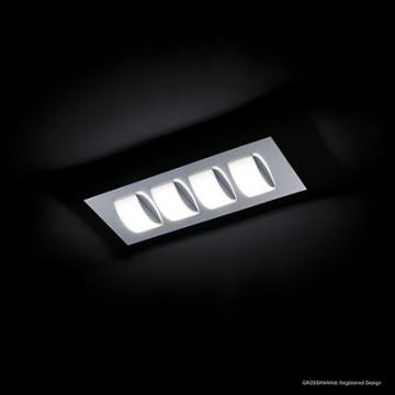 PLA 4X6.6W LED 650LM 2700K CHR