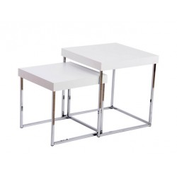 Set de deux tables basses