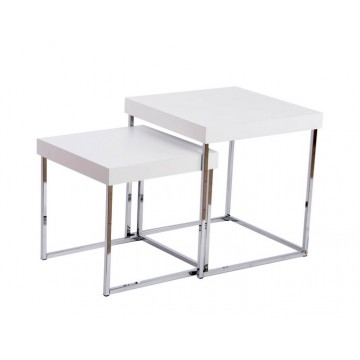 Set de 2 tables basses ITEM