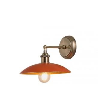 Applique orange une lumière