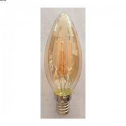 AMPOULE FLAMME A FILAMENT E14 LED 4W 2200K