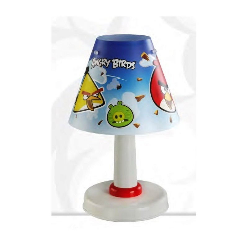 lampe de chevet pour enfant pas cher angry birds. Black Bedroom Furniture Sets. Home Design Ideas