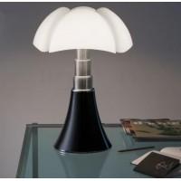 Lampe noire LED PIPISTRELLO