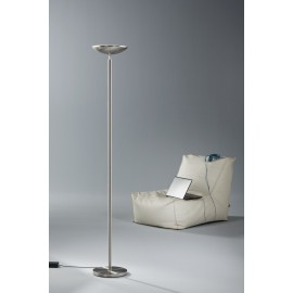 Lampadaire MIAMI finition nickel