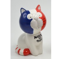 Tirelire CHAT SUPPORTER FRANCE