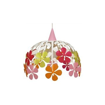 Suspension BOUQUET ivoire multicolore