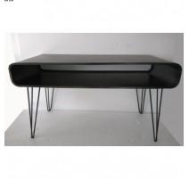 Table basse Métal noir vernis Acier