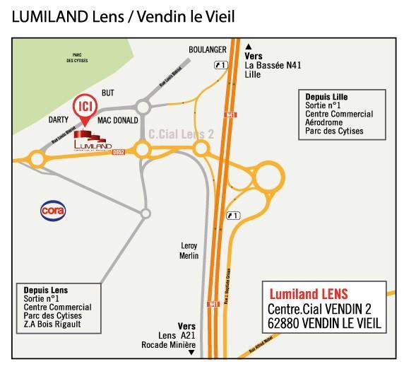 LUMILAND LENS (à 10mn de Lens)