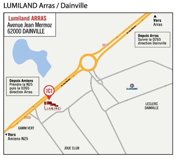 LUMILAND ARRAS (à 10mn d'Arras)
