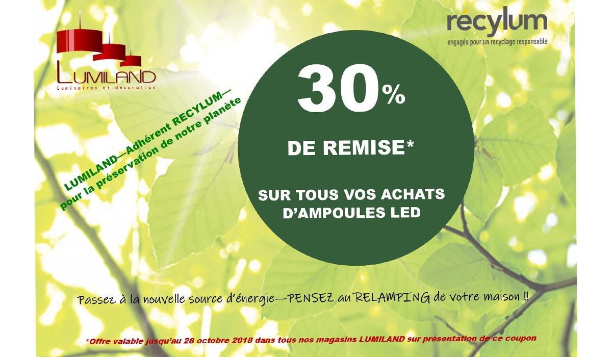 reduction achat ampoules led