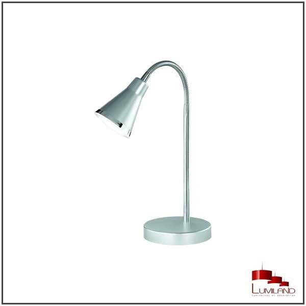 Lampe à poser ARRAS, Titane, LEDS intégrées