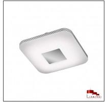 Plafonnier VENUS, Chrome, LEDS Intégrées, Carré