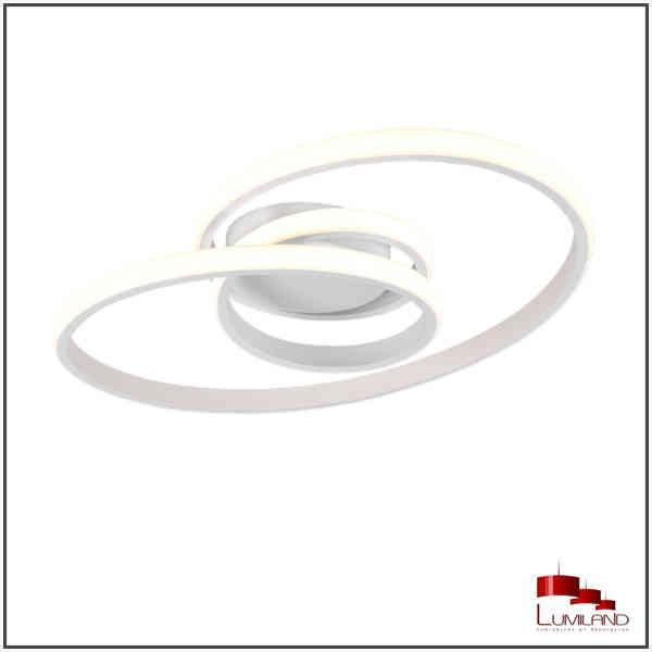 Plafonnier SANSA, Blanc Mat, LEDS Intégrées.
