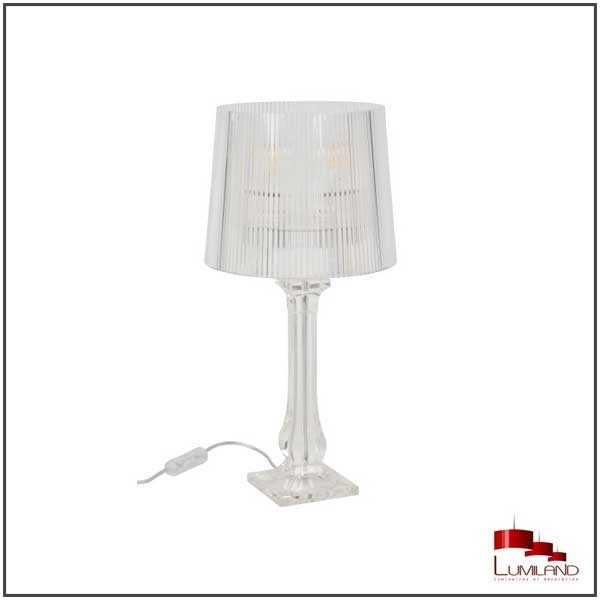 Lampe AMOURETTE, Transparente, 1 lumière, HT51