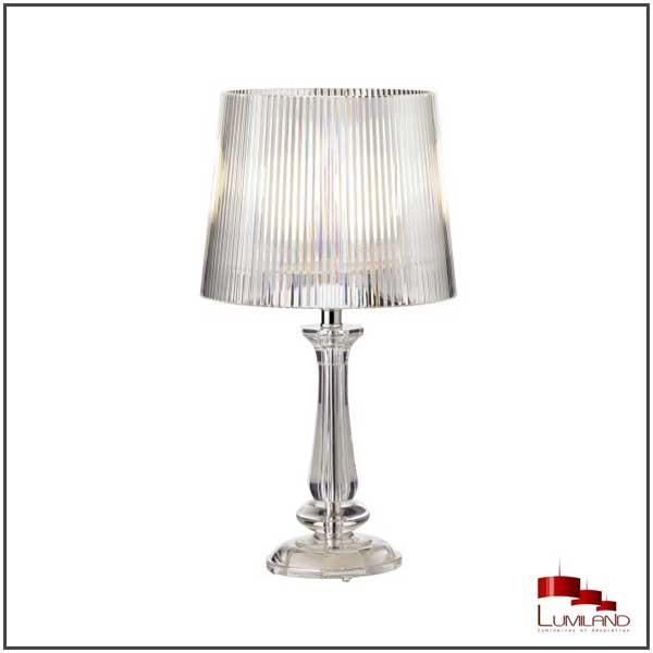Lampe AMOURETTE, Transparente, 1 lumière, HT46