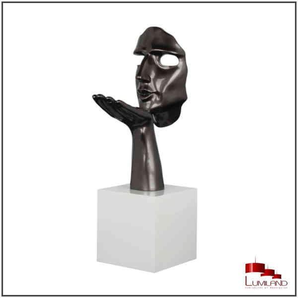 Statue SPERANZA, Gris Perle