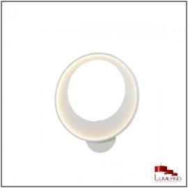 Plafonnier DISCO, Blanc,  LEDS Intégrées, D50cm