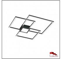 Plafonnier HYDRA, Noir, LEDS Intégrées