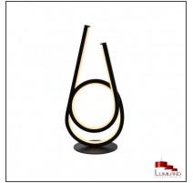 Lampe ALTO, Noir Mat,  LEDS Intégrées