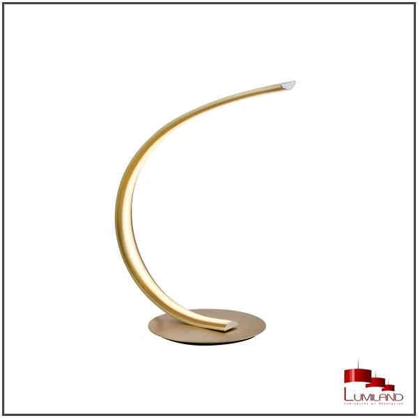 Lampe VIRGO, Dorée Mat, LEDS Intégrées