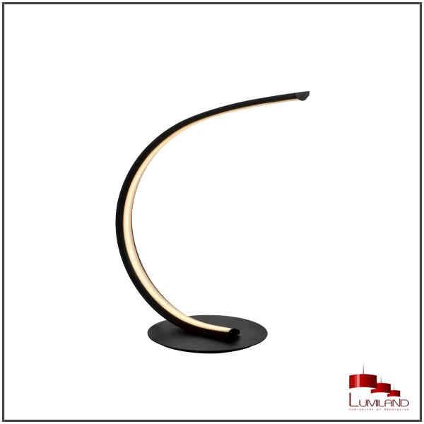 Lampe VIRGO, Noir Mat, LEDS Intégrées