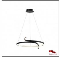 Suspension TRINIT, Noir, LEDS intégrées