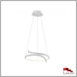 Suspension TRINIT, Blanche, LEDS intégrées