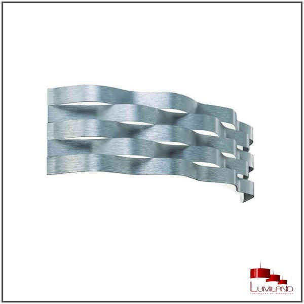 Applique CURVE, Aluminum Mat, LEDS Intégrées