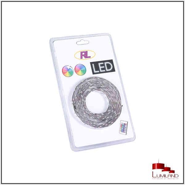 Bandeau LEDS, RGB, 5M, avec télécommande