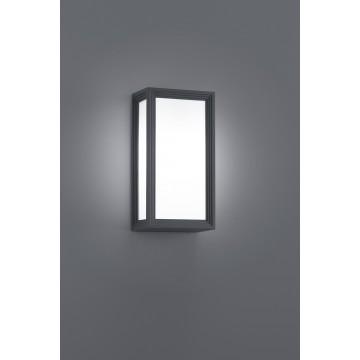 AP 1X18W E27 LED FONTE ALU