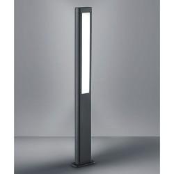 Lampadaire RHINE, Anthracite, LEDS Intégrées