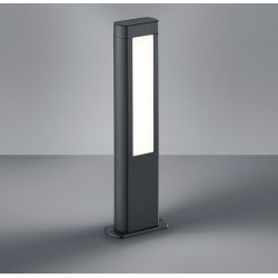 Borne RHINE, Anthracite, LEDS Intégrées