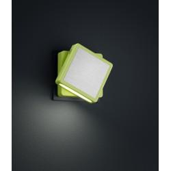 Veilleuse FOXI, Vert pomme, LEDS Intégrées
