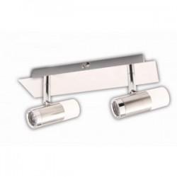 Réglette BATH, Nickel Satiné, LEDS Intégrées