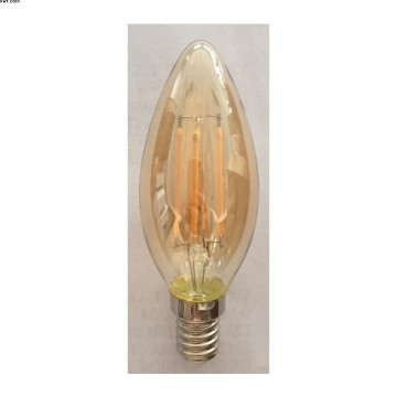 AMPOULE FLAMME E14 LED 4W 2200K