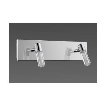 Réglette LED deux lumières idéal pour salle de bain