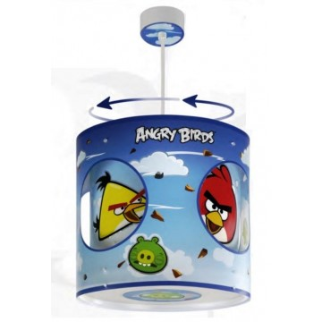 Suspension rotative enfant pas cher ANGRY BIRDS