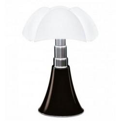 Lampe PIPISTRELLO, Noire, LEDS Intégrées, Mini Modèle