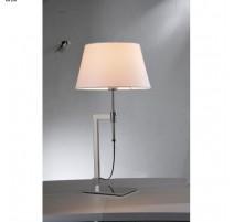 Lampe TWIST, Nickel Satiné, 1 lumière