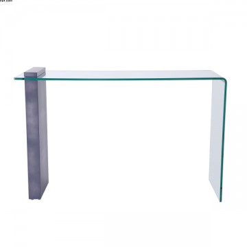 Console en verre