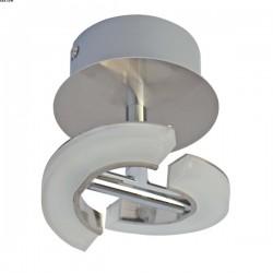 Applique PARADE, Nickel Satiné, LEDS Intégrées