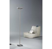 Lampadaire MIAMI, Nickel, LEDS Intégrées