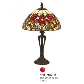 Lampe LYS TIFFANY, Rouge, 1 lumière
