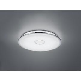 Plafonnier OSAKA, Chrome, LEDS Intégrées, D67