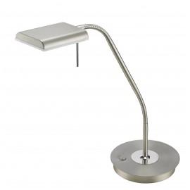 Lampe BERGAMO, Nickel Mat, LEDS Intégrées