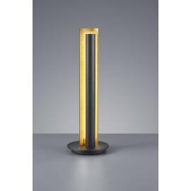 Lampe TEXEL, Noir et Or, LEDS Intégrées