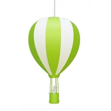 Suspension MONTGOLFIERE, Vert Pomme, 1 lumière