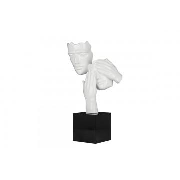 Statue CACHE-CACHE Blanche