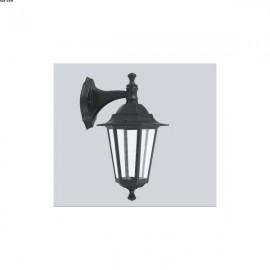 Applique Extérieure LANTERNE, Noire, 1 lumière descendante