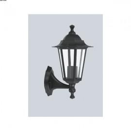 Applique Extérieure Lanterne Noire Montante